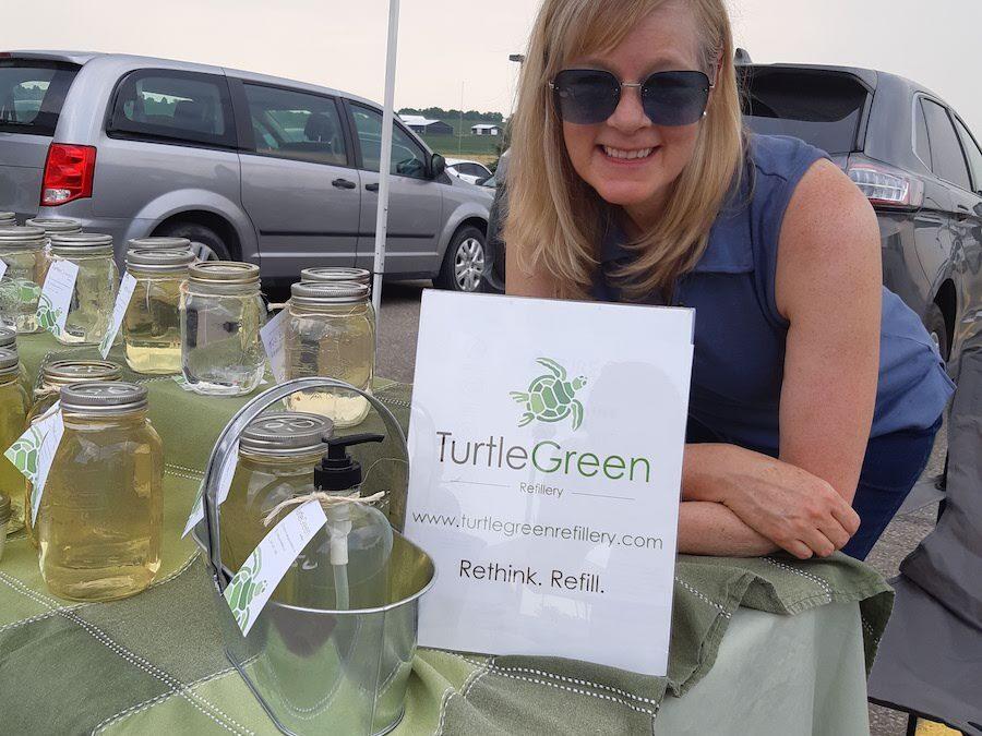 Turtle Green at Farmer's Market